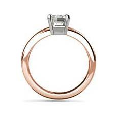 Bethany rose gold engagement ring
