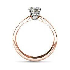 Olivia rose gold diamond ring