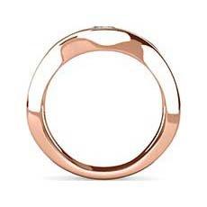Abigail rose gold engagement ring