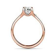 Gillian rose gold diamond engagement ring
