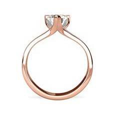 Nicola rose gold ring
