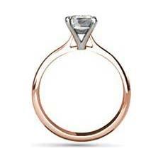 Lauren rose gold diamond engagement ring