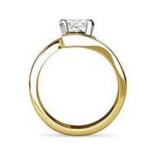 Divya yellow gold engagement ring