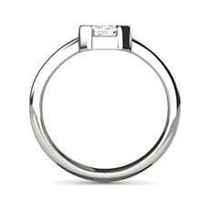 Lynette platinum engagement ring