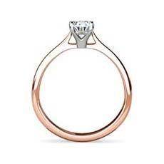 Tara rose gold engagement ring