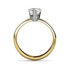 Tiffany yellow gold engagement ring