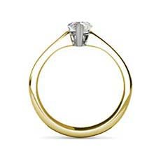 Barbara yellow gold diamond ring