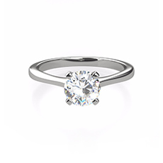 Sofia diamond solitaire ring