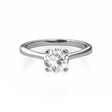 Sofia solitaire diamond ring