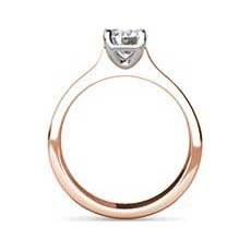 Frederica rose gold ring