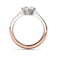 Melanie rose gold ring