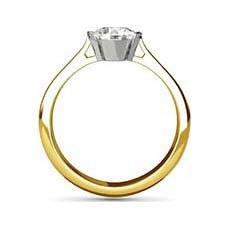 Melanie yellow gold engagement ring
