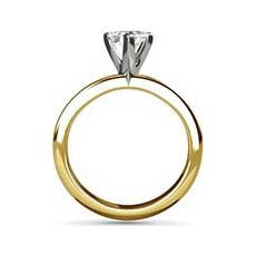 Carey yellow gold ring