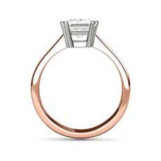 Hestia rose gold ring