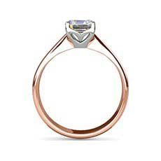 Esme rose gold engagement ring