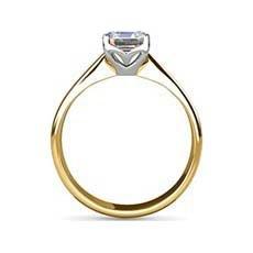 Esme yellow gold diamond ring