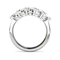 Patricia 5 stone diamond ring