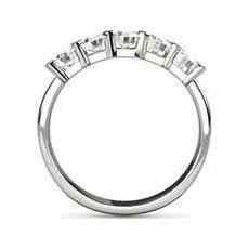 Janette five stone diamond ring