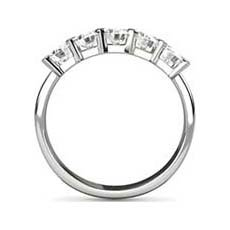 Janette 5 stone diamond ring