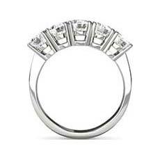Fearne five stone diamond ring