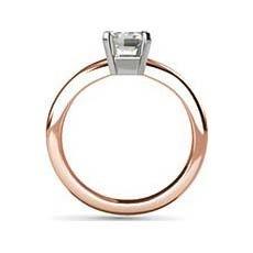 Bethany rose gold ring