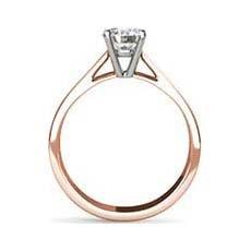Miranda rose gold engagement ring
