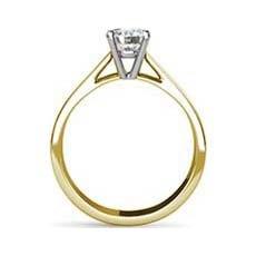 Miranda yellow gold diamond ring