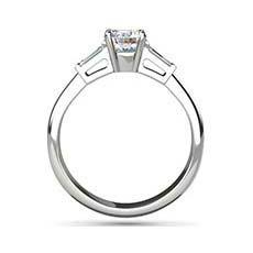Dawn 3 stone diamond ring