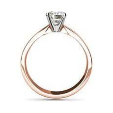 Olivia rose gold diamond ring