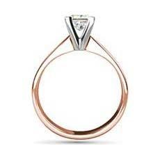Florence rose gold engagement ring