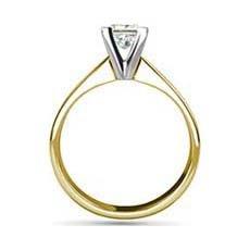 Florence yellow gold diamond engagement ring