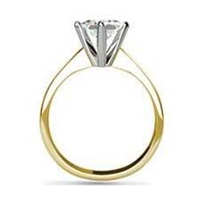 Anne yellow gold diamond ring