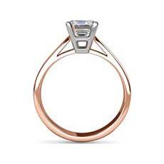 Sonya rose gold diamond ring