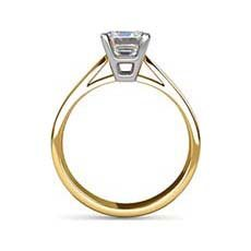 Sonya yellow gold ring