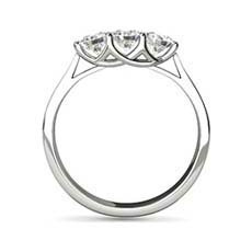 Kendra three stone diamond ring
