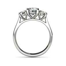 Cordelia 3 stone engagement ring