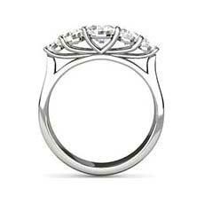 Michaela 5 stone diamond ring