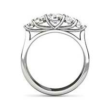 Michaela five stone diamond ring