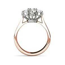 Cheryl rose gold vintage engagement ring