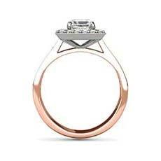 Sadie rose gold vintage engagement ring