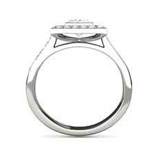 Cosima pave ring