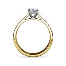 Jennifer yellow gold ring