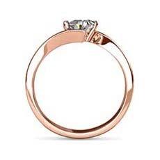 Helena rose gold engagement ring
