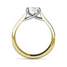 Dana yellow gold diamond engagement ring