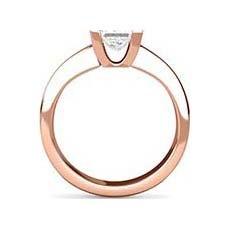 Rowena rose gold ring