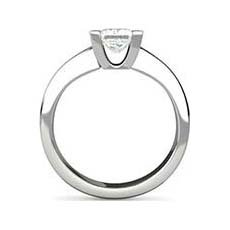 Rowena platinum diamond solitaire ring