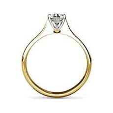 Noreen yellow gold engagement ring