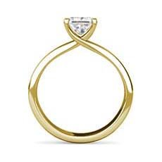 Gwyneth yellow gold diamond ring