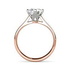 Constance rose gold ring