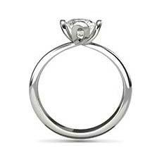 Endellion platinum diamond engagement ring